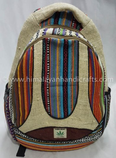 Hemp Perfect Cool  Travelling Bag Canvas Backpack HBBH 0026