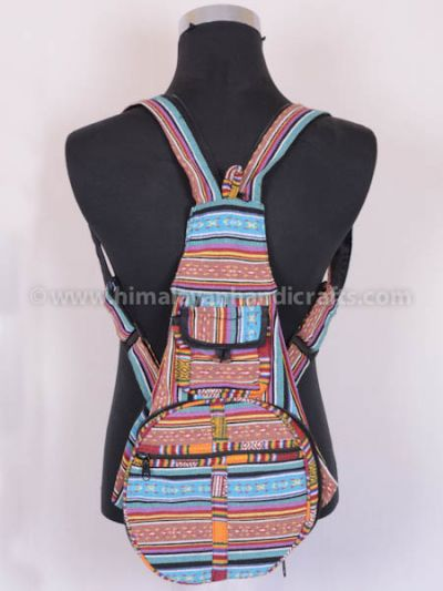 Nepali Gheri Cotton Bag and Backpack HGBB-201-F
